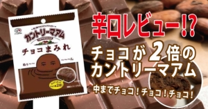 【チョコまみれのカントリーマアム】コンビニやスーパーでゲット