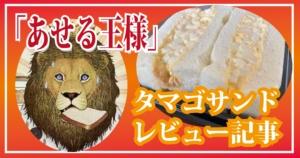 「あせる王様」のサンドイッチ!具がたっぷりで大満足だった!